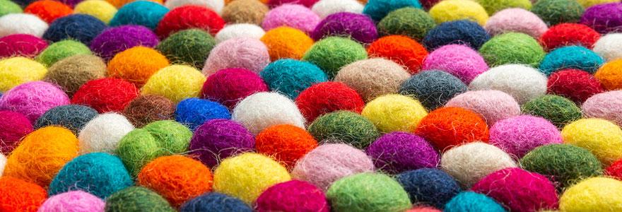 Eléments de déco peut-on faire avec la laine
