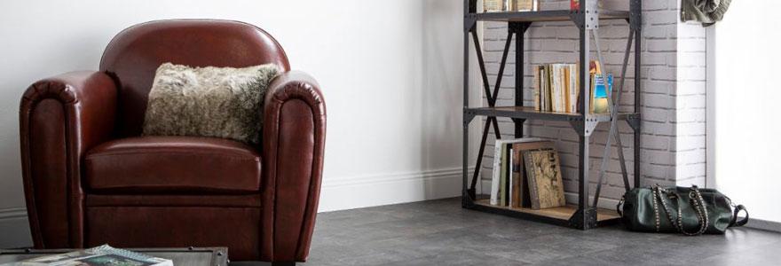 fauteuils club en cuir